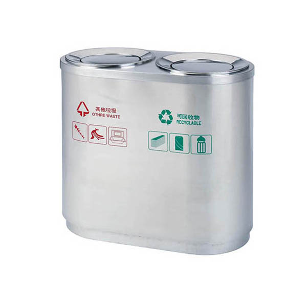 Round Sortable Dustbin with Swing Lid SD03