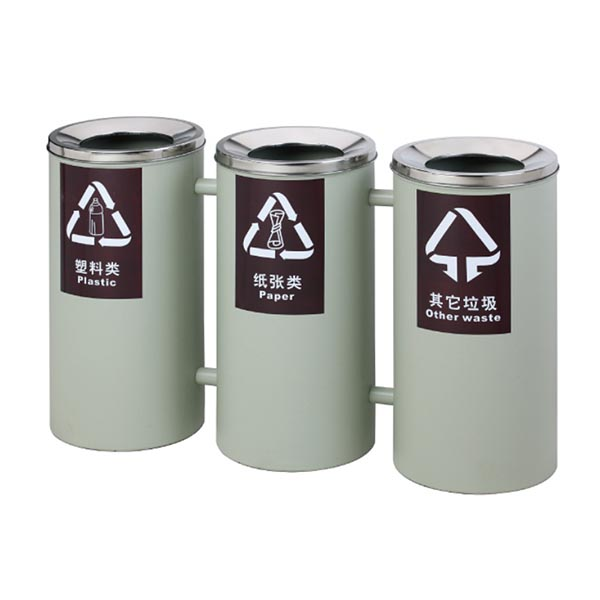 Three Indoor Sortable Dustbin SD09