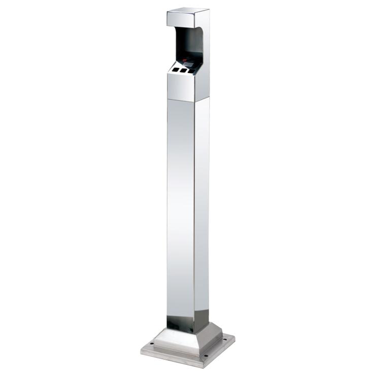 Floor Mountable Cigarette Bin TS-FCB06B