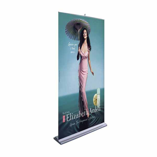Roll up banner stand R-08