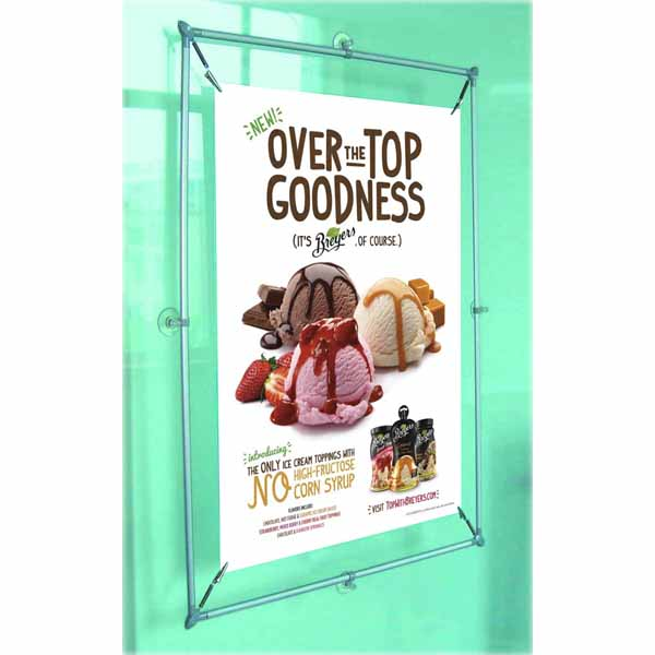 Window banner stand TS-WB02