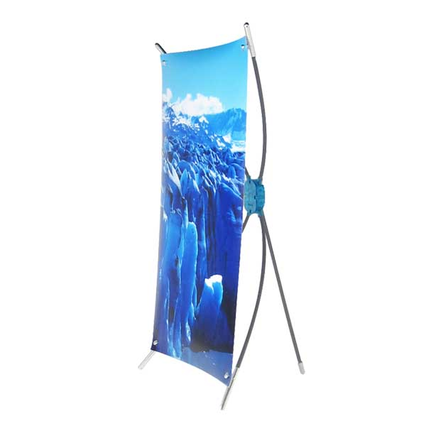 Table top mini X banner stand X-B3